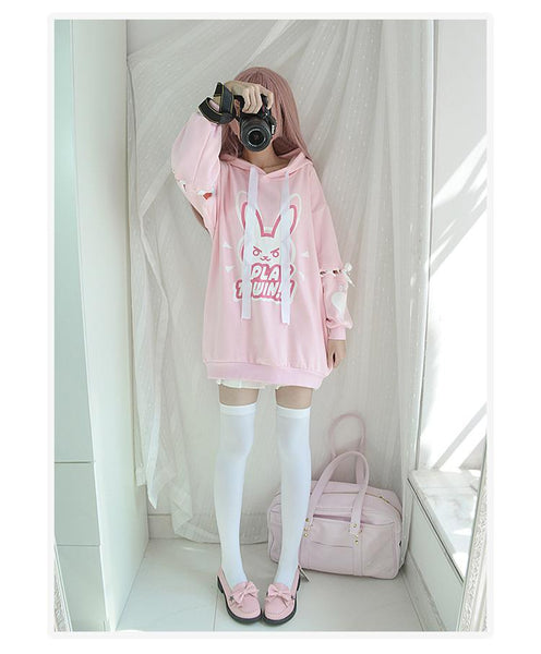 [Overwatch] D.VA DVA Play To Win Love Hoodie HF00186