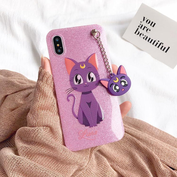 [Sailor Moon] Cute Luna iPhone Phone Case HF00266
