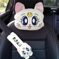 [Sailor Moon] Kawaii Car Pillow and Shoulder Pad (various colors) HF00134