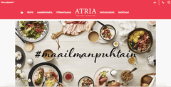 We are very happy to welcome Atria among our customers!