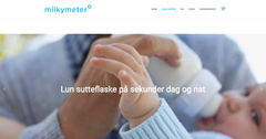 Meet Milky Meter - our newest client on WordPress!