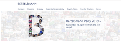Bertelsmann has just become our customer on Episerver!