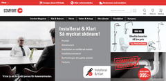 Comfort has just become our customer on Episerver!