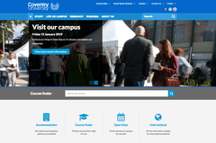 Coventry University has just become our customer on Episerver!