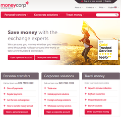 MoneyCorp just became a customer!