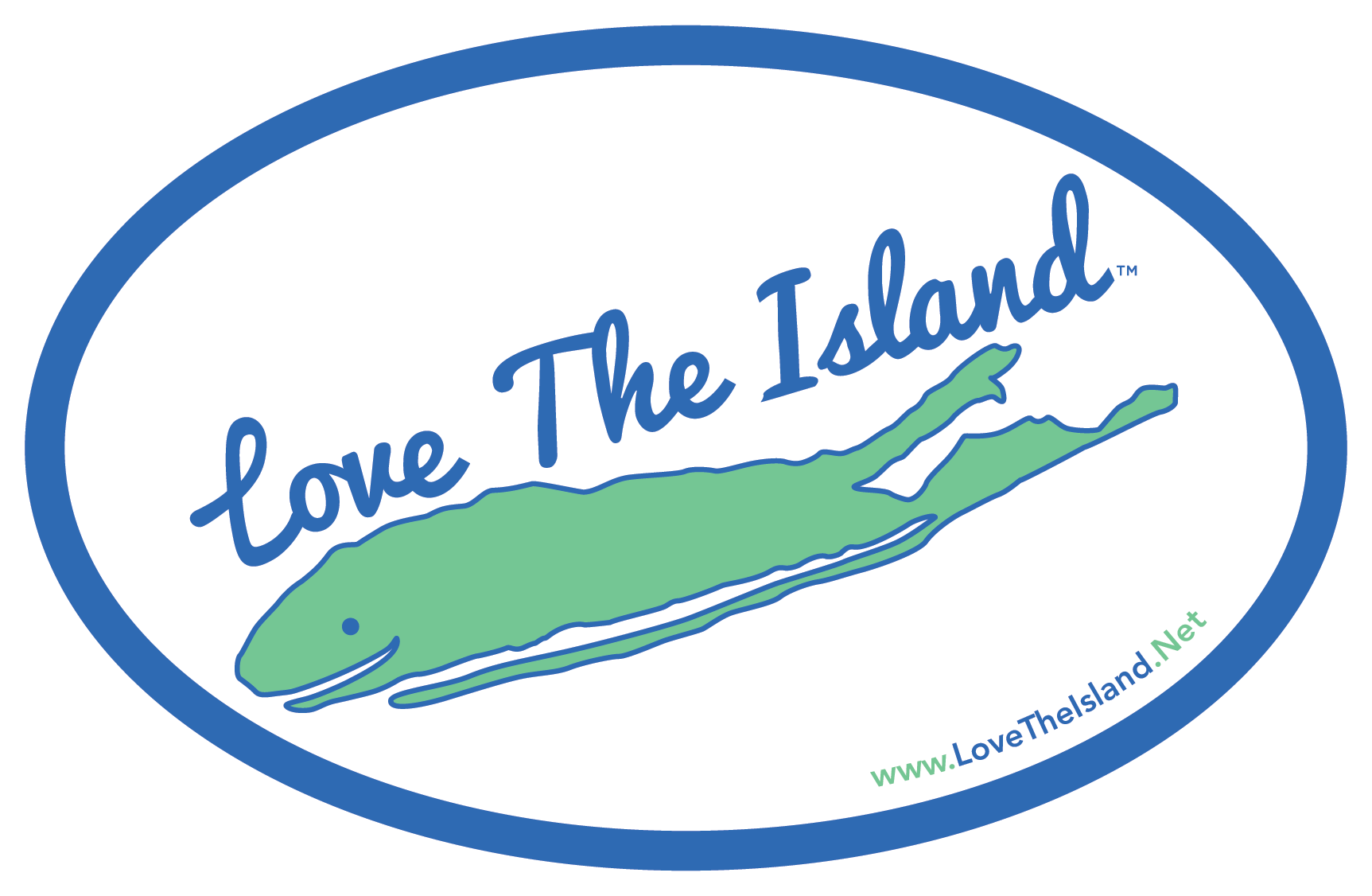 Car Magnet - Love The Island