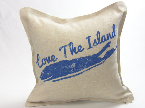 Throw Pillows - Love The Island