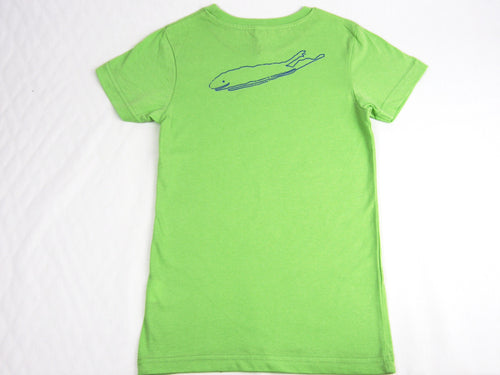 Long Island Girls T-Shirt - key lime green- love the island - long island