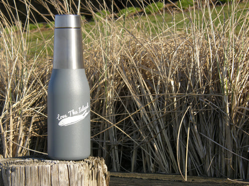 Long Island Insulated Water Bottle - Love The Island Insulated Water Bottle - Holiday Gifts - Christmas Gifts - Unique Gifts