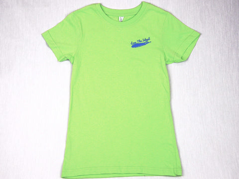 Boys T-Shirt: Short Sleeve - Green Tri-blend