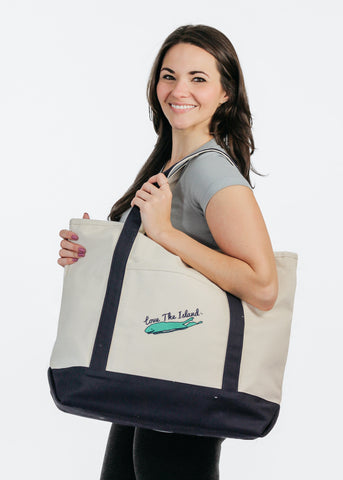 TOTE: Canvas Party Cooler Tote