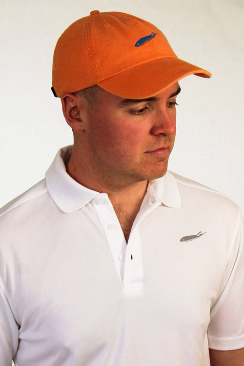 Long Island hat - classic cap - tangerine orange - love the island - long island