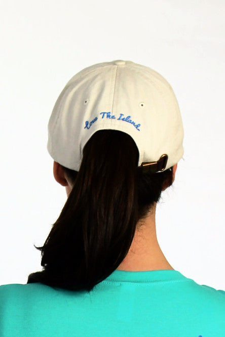 Hats: Classic Cap - Ivory - Love The Island
