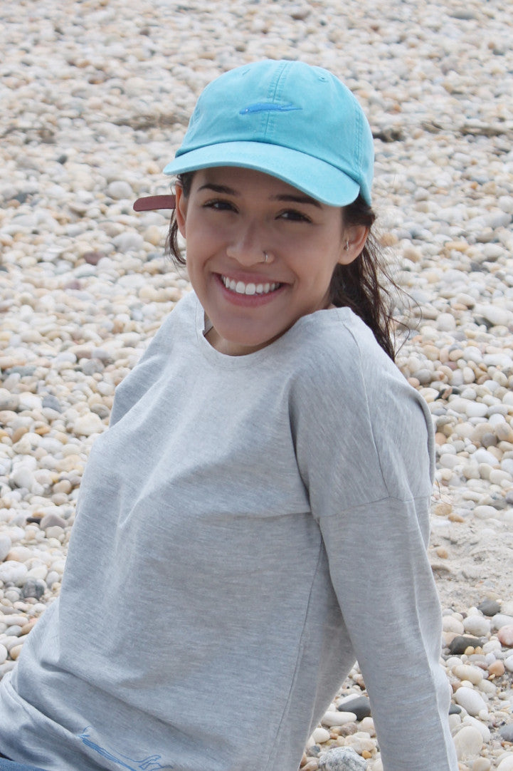 long island hat - classic cap - caribbean blue - love the island - long island