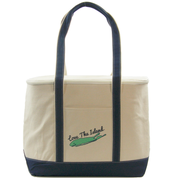 TOTE: Canvas Party Cooler Tote - Love The Island