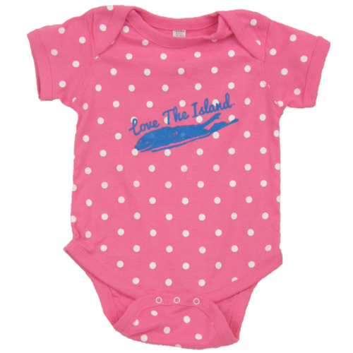 Onsie - Raspberry Dot - Love The Island