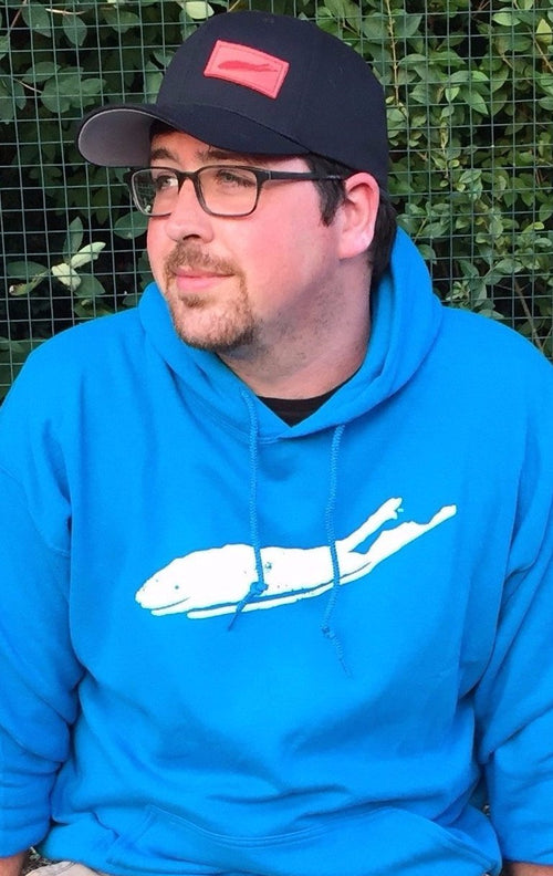 Hoodie: Unisex Classic Comfort Hoodie (Sapphire Blue) - Love The Island