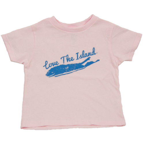 Toddler T-Shirts: Pink - Love The Island