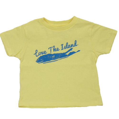 Toddler T-Shirts: Yellow - Love The Island