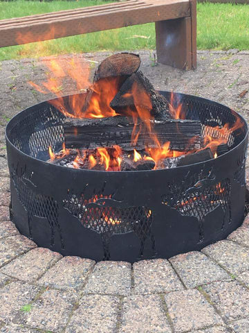 Metal Fire Rings Fire Pits Basics
