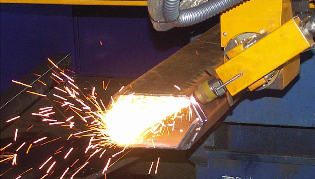 CNC plasma cutting machines and the technology behind it.