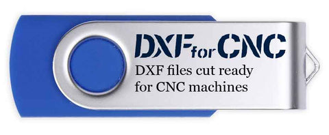 All entire DXF files cut ready for cnc machines