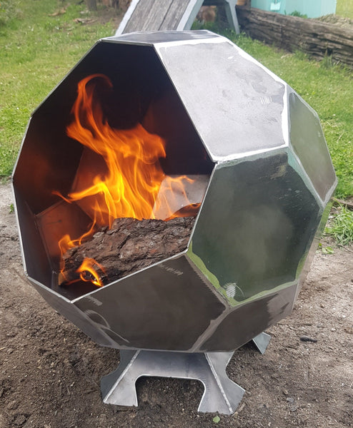 Fire Pit Ball-dxf files cut ready for cnc machines-dxfforcnc.com