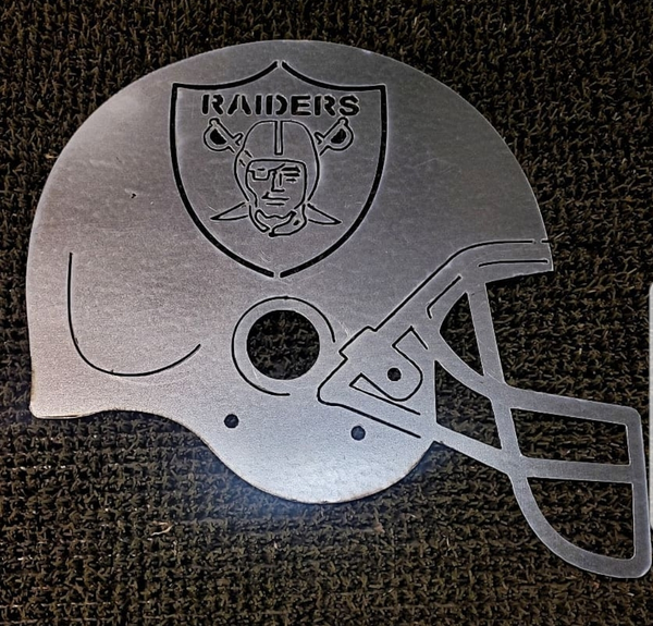 American NFL Teams Logos Helmets-DXF files Cut Ready for CNC-DXFforCNC.com