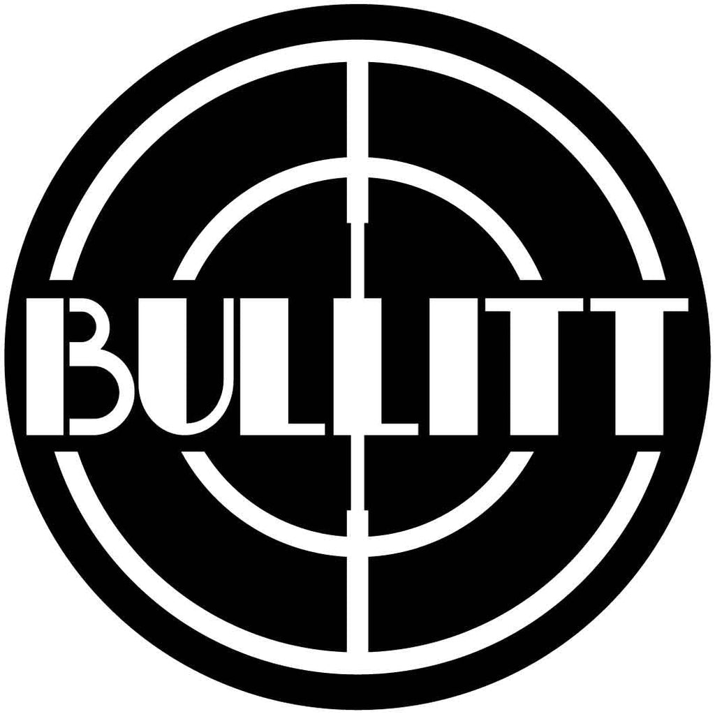 Bullitt Logo Circle-DXF files cut ready for cnc machines-dxfforcnc.com