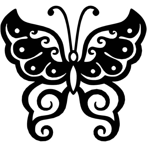 Butterfly Ornaments Decor-Free DXF files Cut Ready CNC Designs-dxfforcnc.com