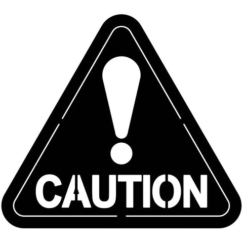 CAUTION Sign Triangle Free DXF file-cut ready for cnc-dxfforcnc.com