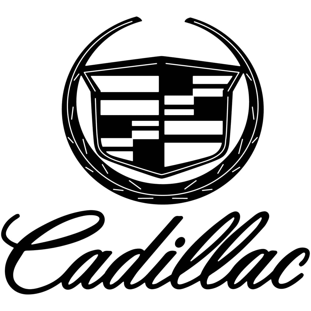 Cadillac Emblem-dxf file cut ready for cnc machines