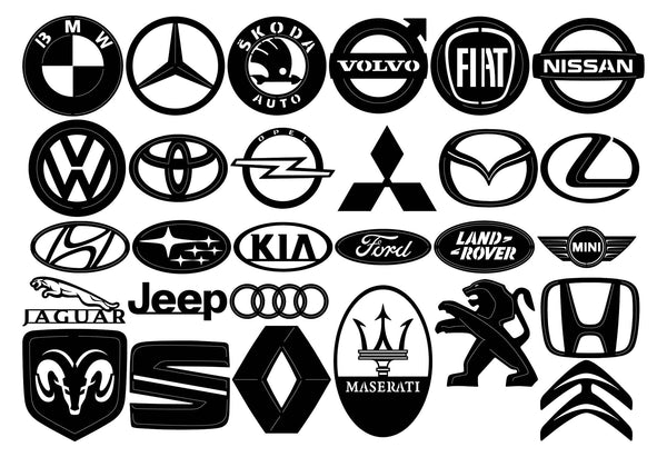 car brands emblems logo dxf files cut ready for cnc machines I-Beam Drawing car brands emblems logo dxf files cut ready for cnc machines dxfforcnc dxfforcnc