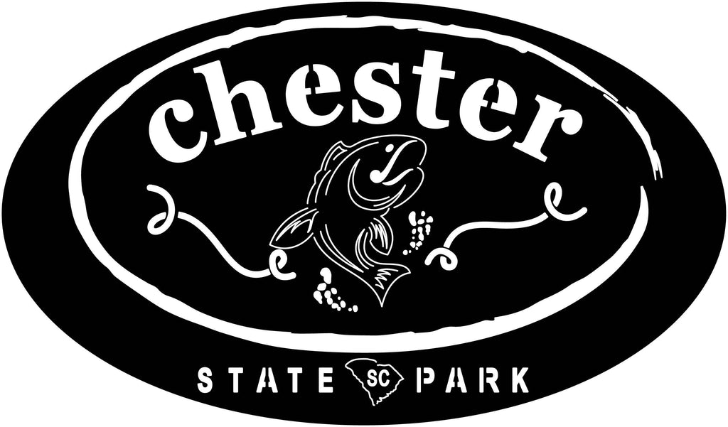 Chester Fish Custom logo-DXF files cut ready for cnc machines-dxfforcnc.com
