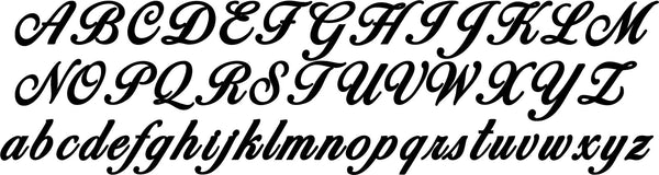 DXF Typography Fonts