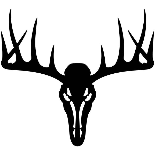 Deer Skull Head-DXF files cut ready for cnc machines-dxfforcnc.com