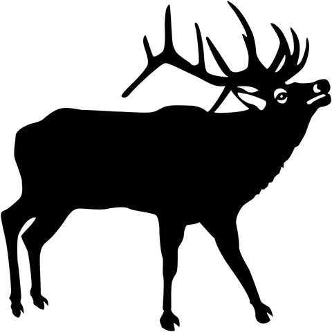 Deer and Moos Free DXF file-Cut Ready for cnc-DXFforCNC.com