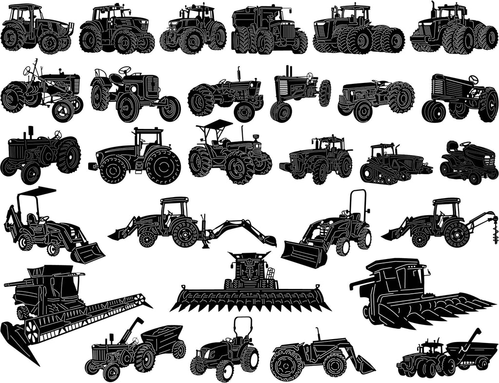 Farm and Agriculture Machinery-DXF files Cut Ready for CNC-DXFforCNC.com