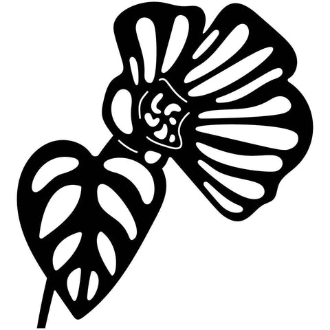Flower Free-DXF files cut ready for CNC-DXFforCNC.com