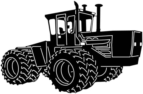 Tractor-dxf file cut ready for cnc machines-dxfforcnc.com