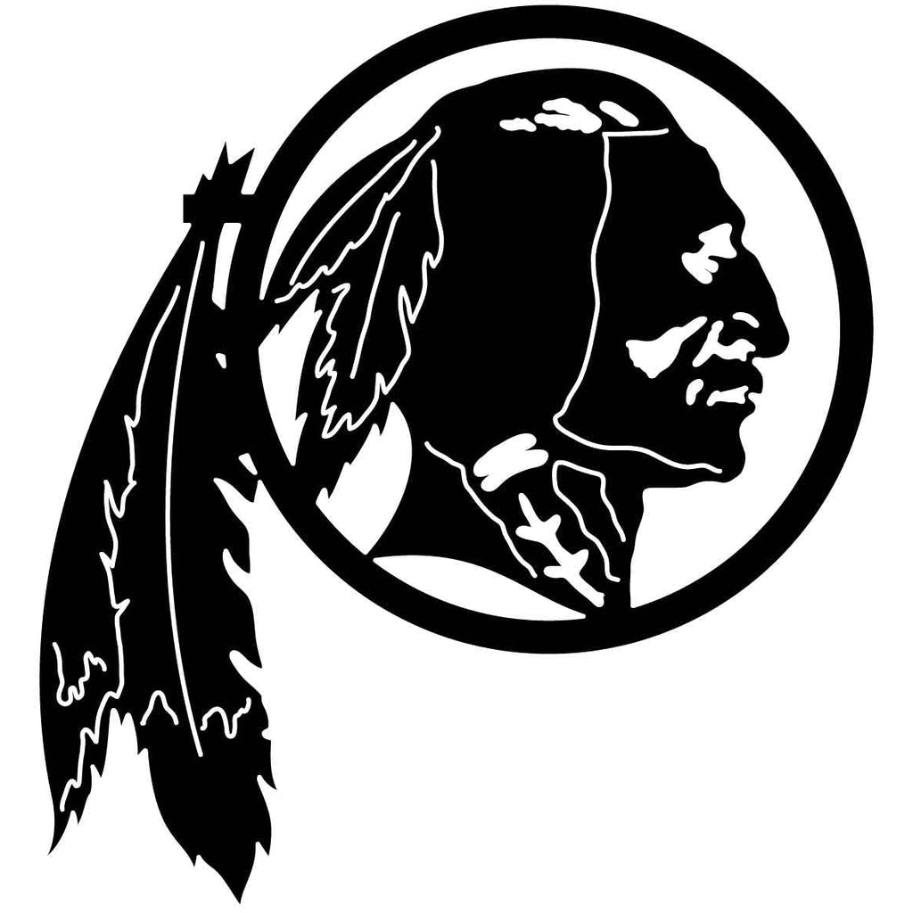 Indian Man Native American Free DXF file-Cut Ready for cnc-DXFforCNC.com