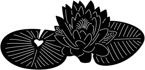 Lotus Flowers-DXF files Cut Ready for CNC-DXFforCNC.com