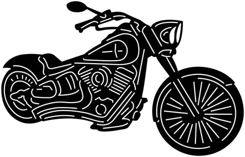 Motorcycle-dxf files cut ready for cnc machines-dxfforcnc.com