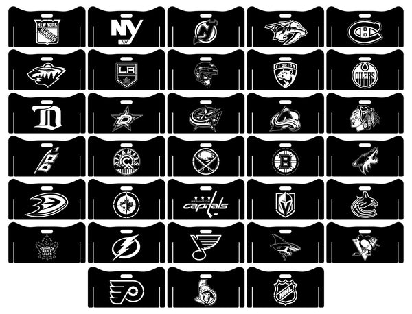 Fire Pits Collapsible American National Hockey League NHL Teams Logo