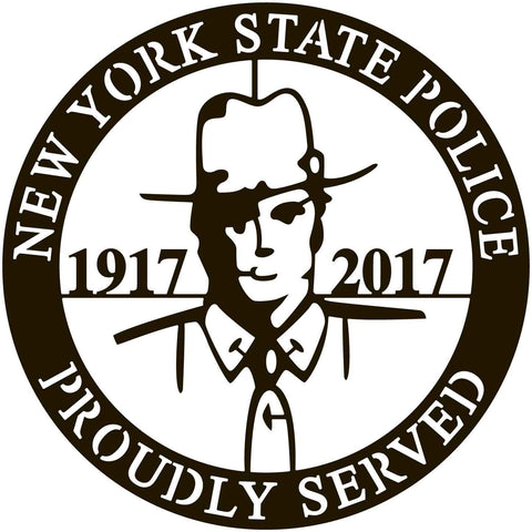 New York State Police -DXF files cut ready for cnc machines-dxfforcnc.com