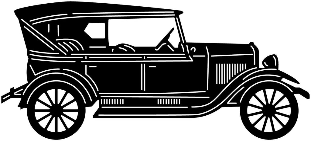 Old Classic Car-DXF files cut ready for cnc machines-DXFforCNC.com