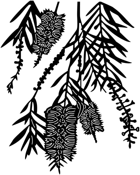 Set of Plants-DXF files Cut Ready for CNC-DXFforCNC.com