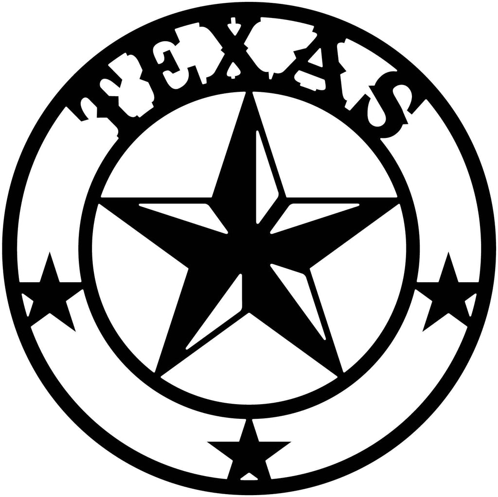 Texas Star-DXF files Cut Ready for CNC-DXFforCNC.com