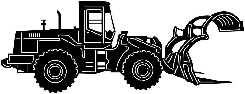 Heavy Duty Special Tractor-DXF files cut ready for cnc machines-DXFforCNC.com