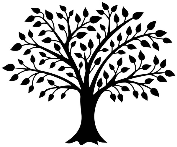 Decal Trees Wall Decor Home Depot